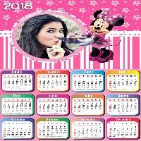 calendario-2018-para-imprimir-com-a-minnie-e-sua-foto