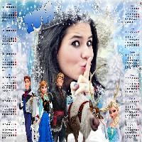 moldura-para-fotos-gratis-calendario-2015-frozen