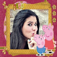 george-e-peppa-pig-fotomoldura-happy
