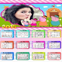 montar-fotos-calendario-peppa-pig-2015
