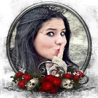moldura-para-halloween-com-caveiras-e-rosas