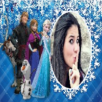 foto-moldura-do-frozen