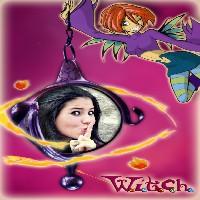 foto-moldura-desenho-bruxinha-witch