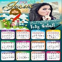 moldura-calendario-2020-de-jesus-feliz-natal-salvacao