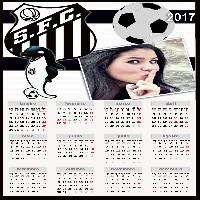 colocar-foto-em-calendario-2017-santos-futebol-clube