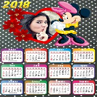 fotomontagem-gratis-com-minnie-calendario-2018