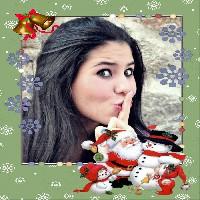 montagem-para-fotos-natal-com-papai-noel-e-boneco-de-neve