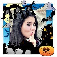 noite-de-halloween-e-bruxas-foto-moldura