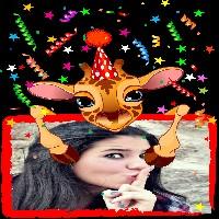montagem-de-fotos-de-aniversario-com-girafa