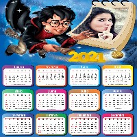 moldura-harry-potter-com-calendario-2021-gratis