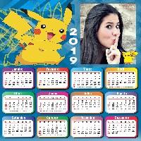 calendario-2019-pikachu