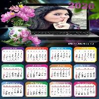 moldura-laptop-com-flores-calendario-2020