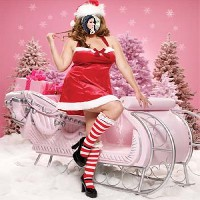 foto-molduras-gratis-natal-rosa-com-sexy-mamae-noel