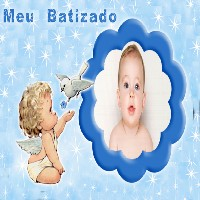 moldura-de-fotos-batismo-azul