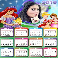 montagem-de-fotos-calendario-2019-princesas-disney