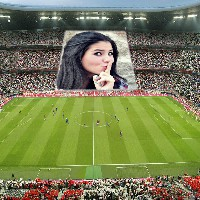 estadio-de-futebol-foto-montagem