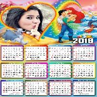 calendario-2019-ariel-e-eric-disney-com-coracao