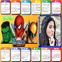 calendario-2019-herois-marvel