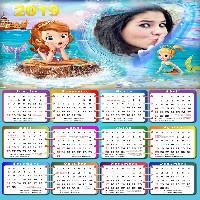 moldura-calendario-2019-princesa-sofia-sereia