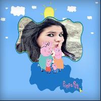 montagem-de-fotos-desenho-animado-peppa-pig-e-sua-familia
