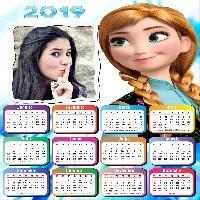 modlura-calendario-2019-frozen-anna
