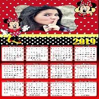 calendario-2019-da-minnie-vermelha