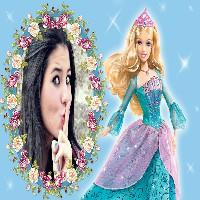 montagem-de-fotos-com-barbie-princesa