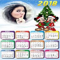 calendario-2018-moldura-mickey-e-minnie-mouse-no-natal