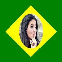 moldura-de-foto-da-bandeira-do-brasil