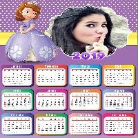 moldura-calendario-2019-princesa-sofia-disney