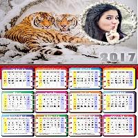 montar-foto-em-calendario-2017-com-tigres