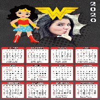 calendario-2020-mulher-maravilha