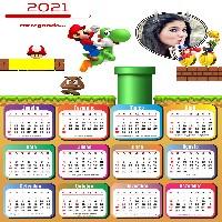 foto-moldura-calendario-2021-com-super-mario