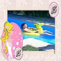 moldura-de-aniversario-de-15-debutante-menina-loira