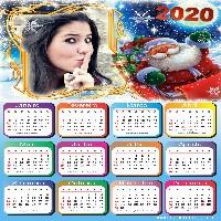 moldura-para-fotos-calendario-2020-papai-noel
