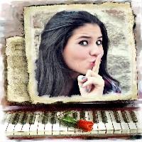 montagem-de-fotos-de-amor-piano-e-rosa