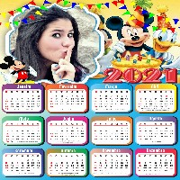 foto-calendario-2021-personalizado-festa-do-mickey