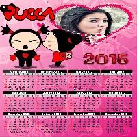 calendario-da-pucca-e-garu-2015
