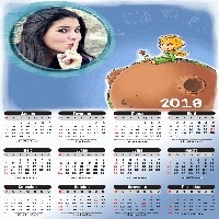 calendario-online-gráris-2018-com-o-pequeno-principe