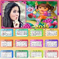 fotomontagem-em-calendario-png-2015-dora-aventureira