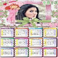 moldura-de-calendário-moranguinho-2017-gratis