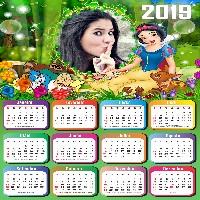 fotomontagem-calendario-2019-branca-de-neve-na-floresta
