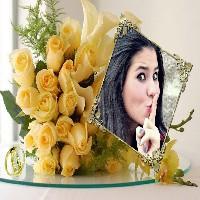 foto-montagens-gratis-para-casamento-com-rosas-amarelas