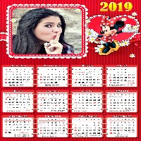 calendario-2019-minnie-para-fotomontagem