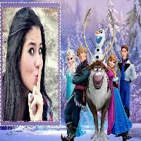 montagem-de-fotos-gratis-com-personagens-do-filme-frozen