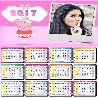 moldura-de-calendario-2017-peppa-pig