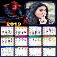 moldura-do-homem-aranha-com-calendario-2019