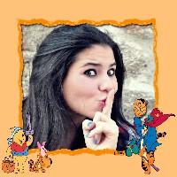 foto-moldura-halloween-com-ursinho-pooh