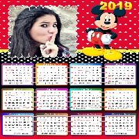 moldura-calendario-2019-mickey-mouse