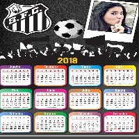 moldura-para-fotos-do-santos-fc-com-calendario-2018